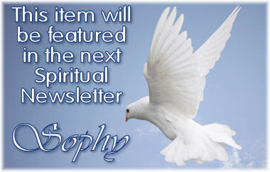 Sig for items featured in my Spiritual newsletter