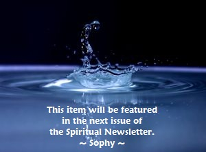 Sig for Spiritual Newsletter