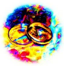Digital Image of rings