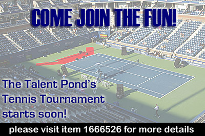 Image for participation cNote for the Talent Pond Tennis Tournament