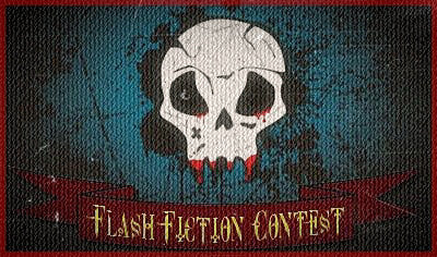 An image to advertise the Flash Fiction Contest
