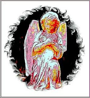 Digital illustration of an Angel.