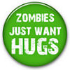 A button for zombie love.