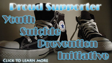 Youth Suicide Prevention Initiative Supporter Image - Click here to learn more.