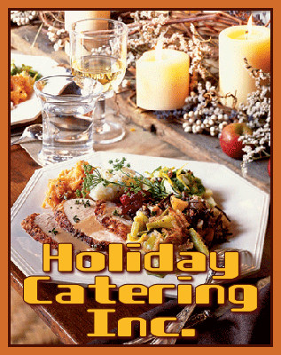 Banner for Holiday Catering Inc made by Ledger.
