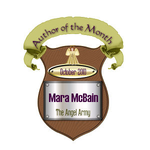 Angel Army Author of the Month 10/2010