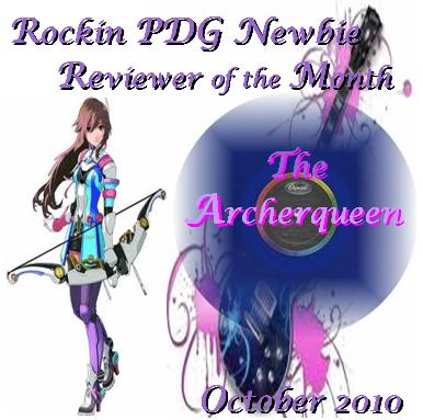 The Sig Created for me for winning the Newbie Reviewer of the Month award, October!