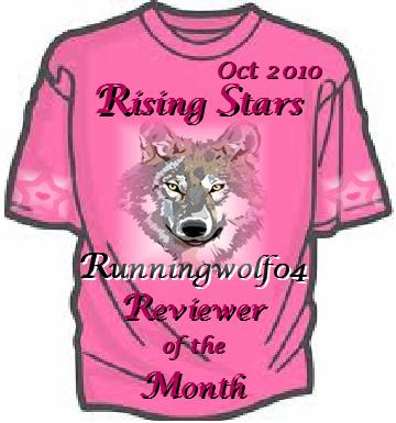 Rising Stars Reviewing Award ~ Oct 2010