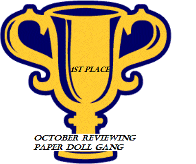 Awarded to me by the Paper Doll Gang