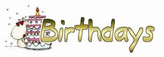 Birthdays Text
