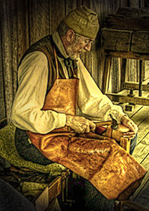 "For use with the poem ""The Cobbler"""
