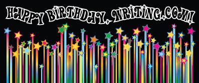 Happy Birthday, Writing.Com (Star Candles)