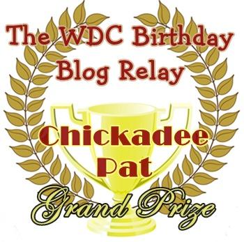 Gold Prize for Kiya's Blogging Contest--Team Chickadees