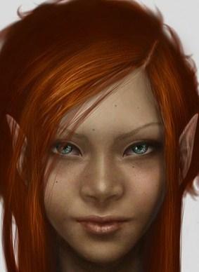 red Headed Elf