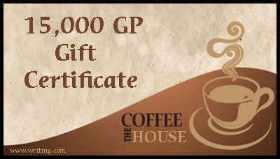 Gift Certificate for The Coffee House