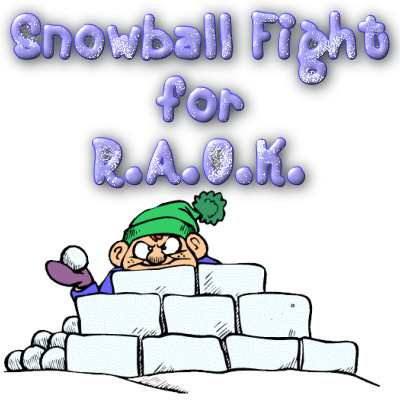 Throw a snowball for a good cause!
