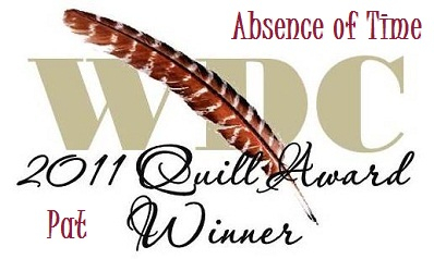 "Quill Awards image for ""Absence of Time"""
