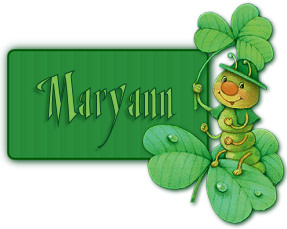 A 'Maryann' image for St. Pat's Day