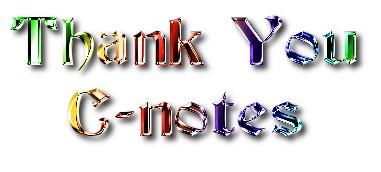Thank you header