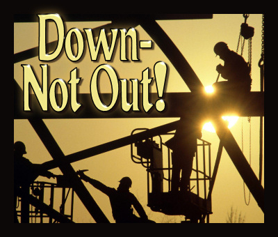 For my poem: Down - Not Out!