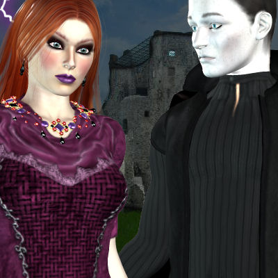 Another Poser of vampire couple. Vandy and Marco by best friend Angel.