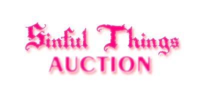Logo/Header image for the Sinful Things Auction.