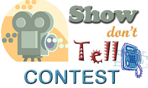 Show, Don't Tell Contest Logo