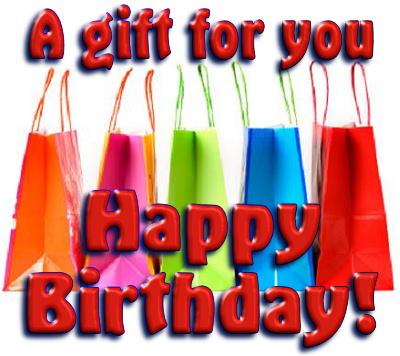 A 'happy birthday' cNote