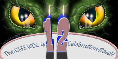 Review raid signature for CSFS celebrating WdC's 12th birthday.