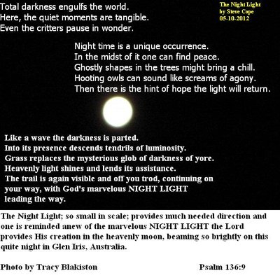 Photo of the moon inspired this pic n poem.
