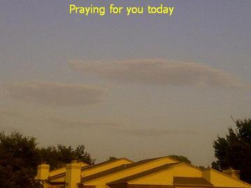 Praying for you today C-note.