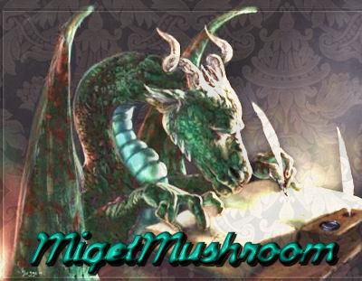 Writing dragon signature