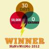 2012 NaNoWriMo Winner badge