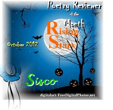 Rising Star Poetry Reviewer of the Month for October 2012!