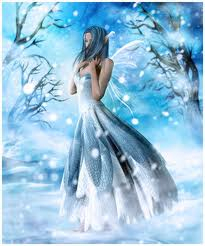 picture gift of blue fairy