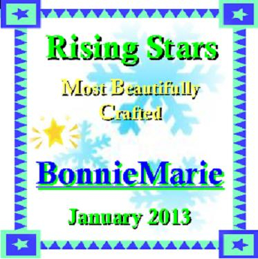 A rising star award