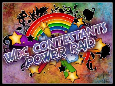 WDC Contestants Power Raid