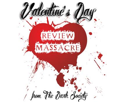 Logo for The Dark Society's Valentine's Day Review Massacre