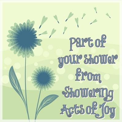 Part of Your Shower Review Signature/Flower Petals