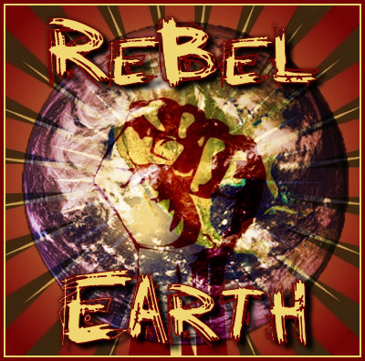 A header for the campfire Rebel Earth.