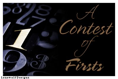 A banner for A Contest of Firsts