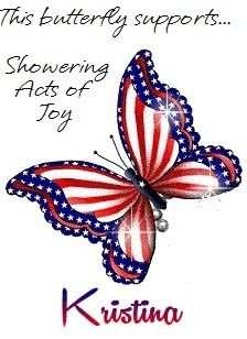 In Support of Showering Acts of Joy
