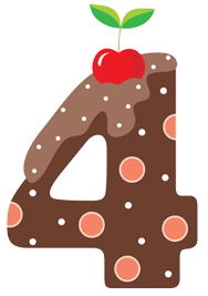 A number image for the cupcake forum.