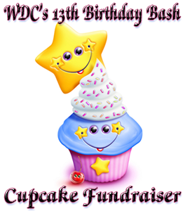 An image for WDC's 13th Birthday Cupcake Feeding Competition.