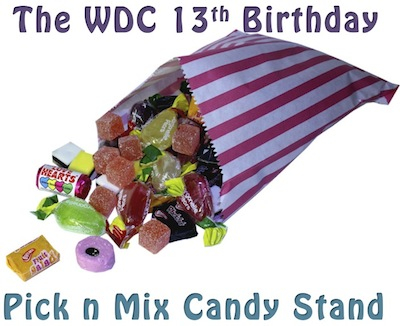 WDC 13th Pick n mix stand main Image
