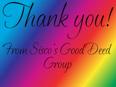 Thank you for your donation. SGDG.