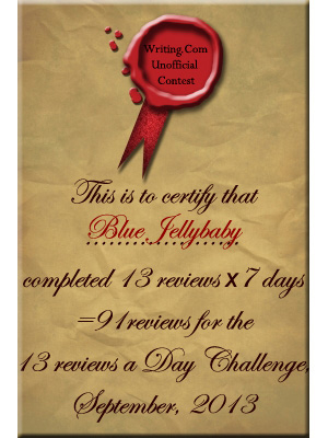 Plaque for completing review challenge
