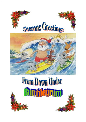 Christmas greetings from down under