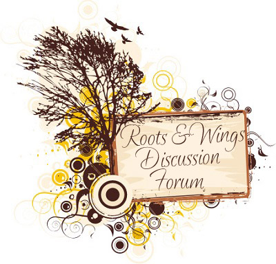 Title logo for the Roots & Wings Discussion Forum