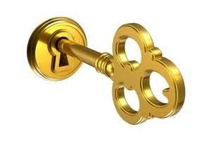 gold key clip art
